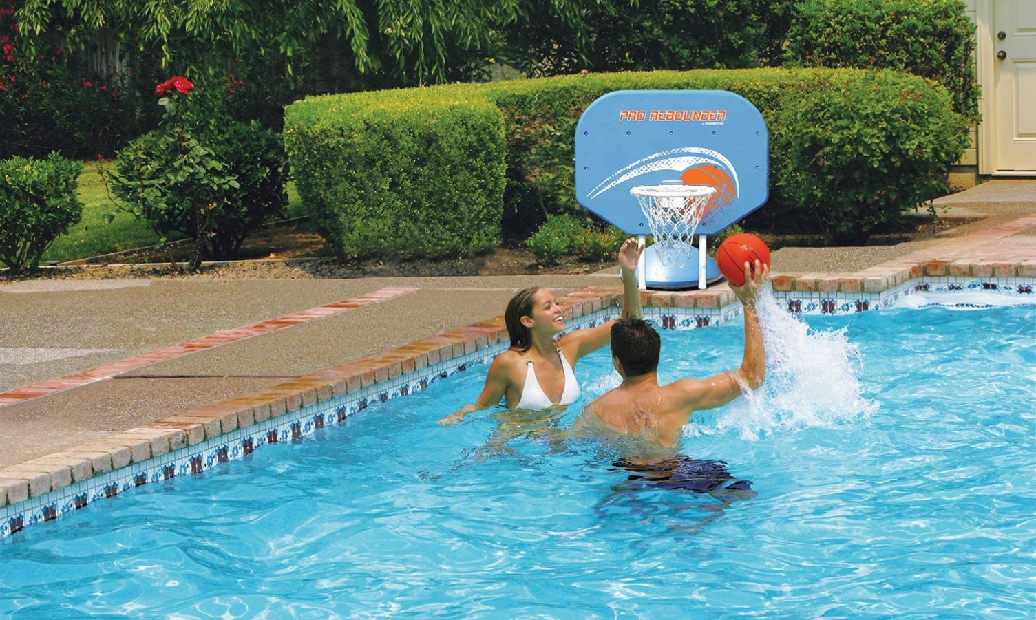 How To Make A Poolside Basketball Hoop